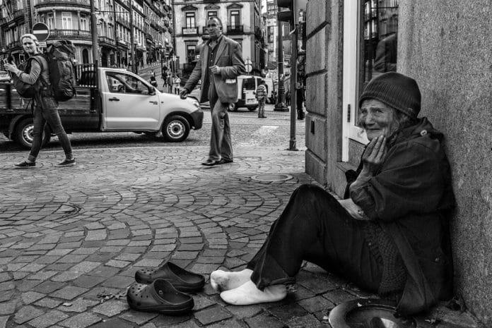Há cerca de 1300 sem abrigo no Porto