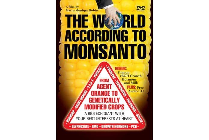 Capa do DVD do Documentário «The World According to Monsanto [O Mundo Segundo a Monsanto]» (2008)
