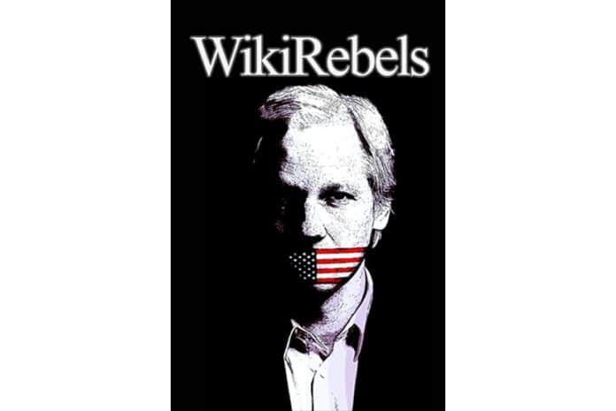 Capa do DVD do Documentário «WikiRebels: The Documentary [WikiRebels: O Documentário]» (2010)