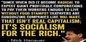 Afirmação de Nick Hanauer sobre o Sistema Capitalista