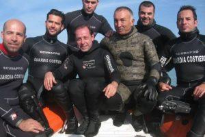 Mergulhadores que descobriram o Oricalco