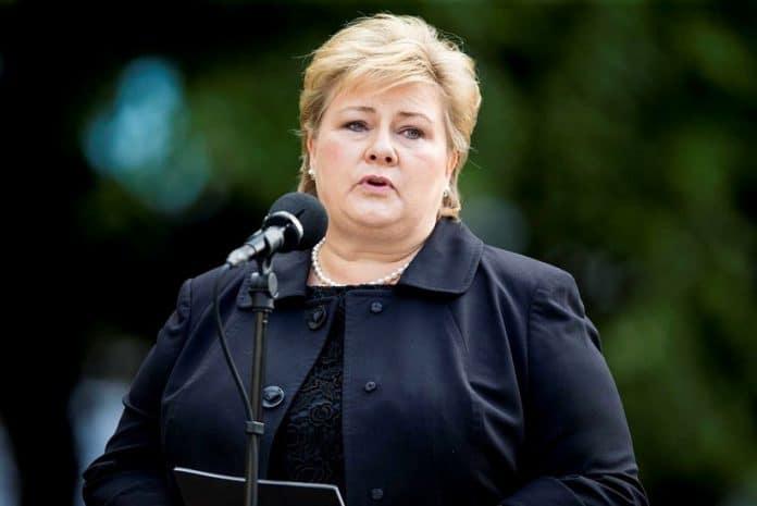 Erna Solberg, Primeira Ministra da Noruega