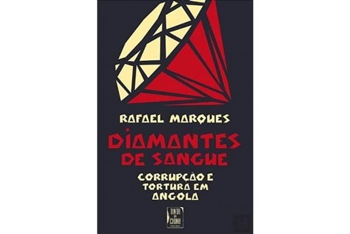 Capa do Livro «Diamantes de Sangue» de Rafael Marques