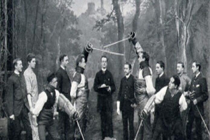 Mensur em 1888