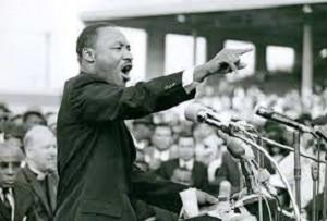 King em Memphis num dos seus discursos