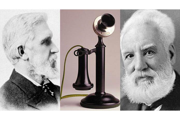 Elisha Gray e Alexander Graham Bell