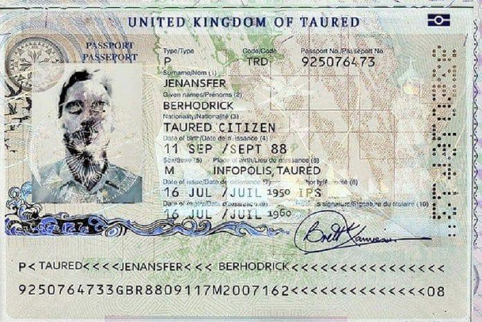 O misterioso homem de Taured