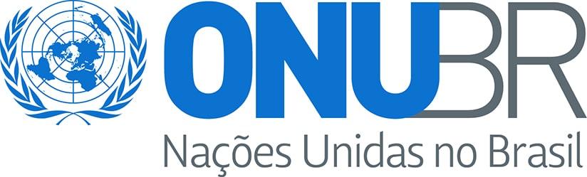 Logotipo das Nações Unidas no Brasil