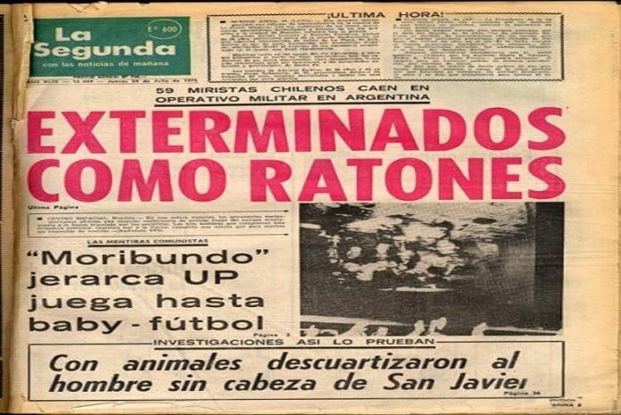 Tubarão da imprensa chilena foi financiado pela CIA para depor Allende