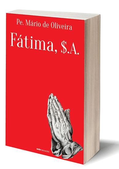Capa do Livro: «Fatima, S.A.»