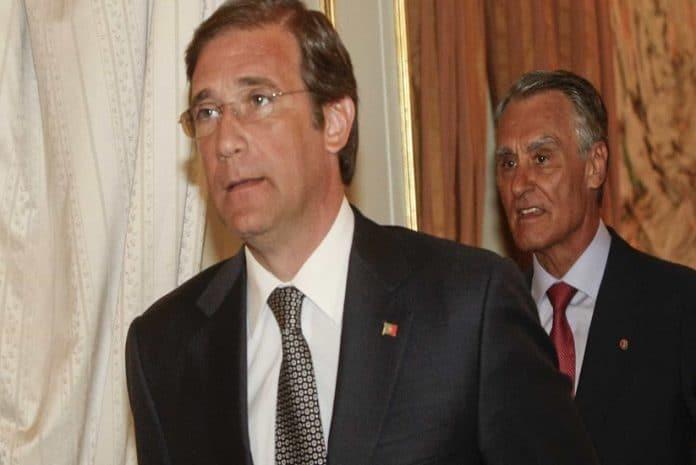 Cavaco Silva e Passos Coelho