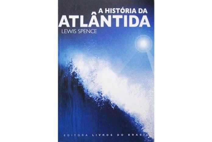 Capa do Livro: «A História da Atlântida» de Lewis Spence
