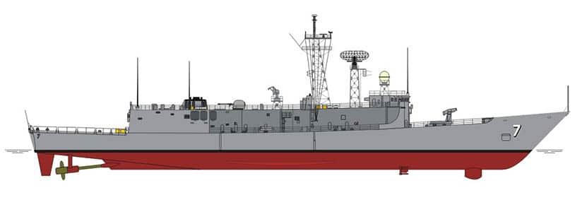 Fragata Oliver Hazard Perry