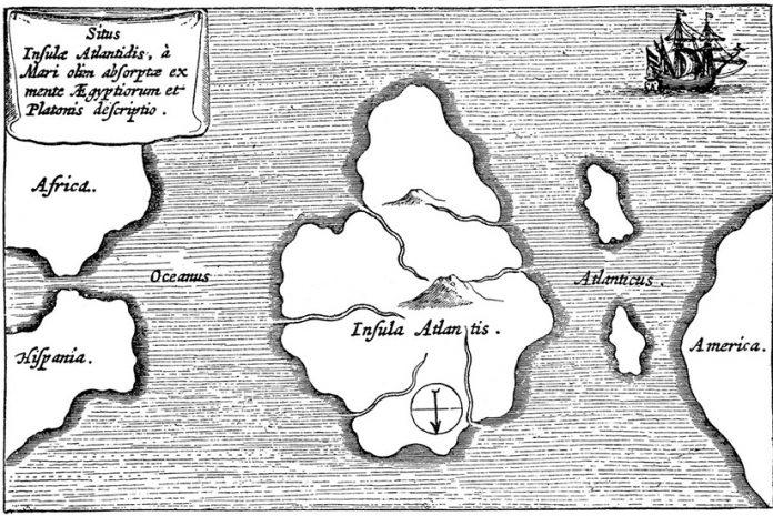 Localização da Atlântida