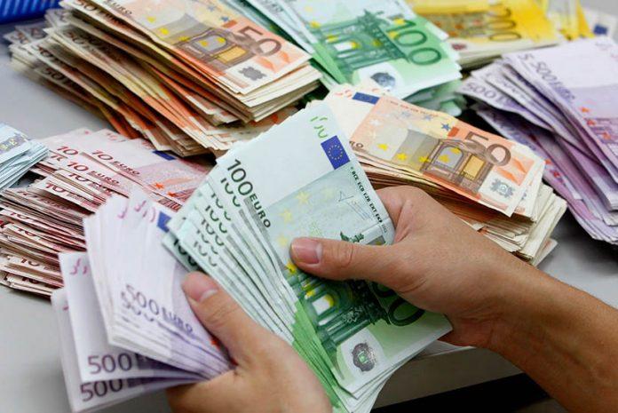 Milhões gastos por Portugal