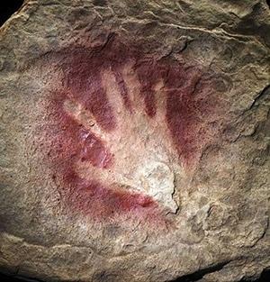 Pintura rupreste executada pelo homem Cro-Magnon