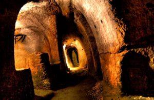 Rede de túneis na Escócia