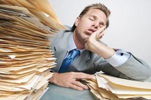 Desinteresse no trabalho