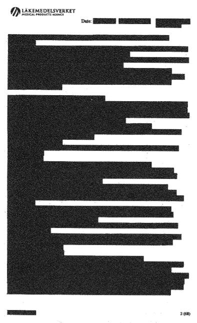 Documento completamente rasurado