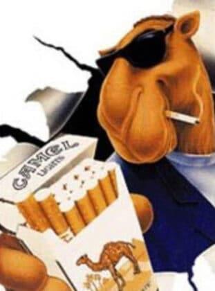 Cigarros Camel - Uma Mascote apelativa