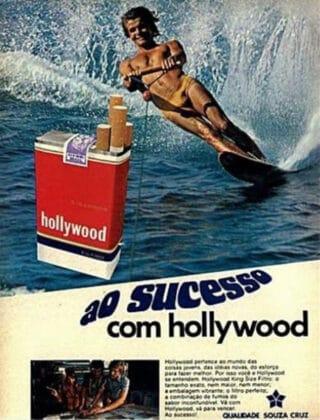 Cigarros Hollywood. Associá-los ao Sucesso.