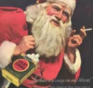 Pai Natal Fumador