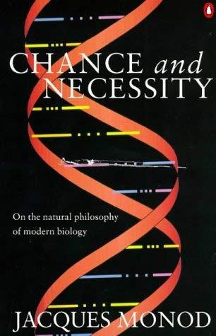 "Capa do Livro de Monod ""Chance and Necessity"""