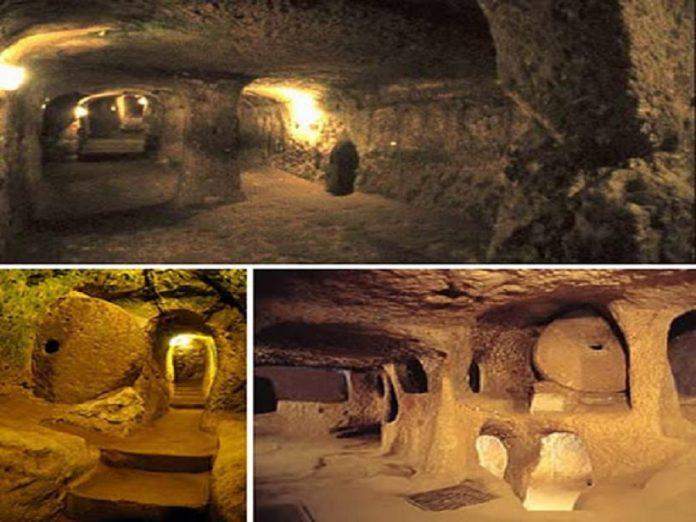 Rede de túneis 12 mil anos Europa