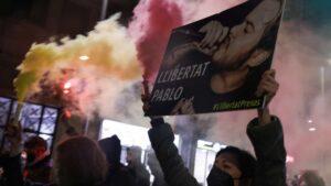 Protesto contra a prisão de Pablo Hasel