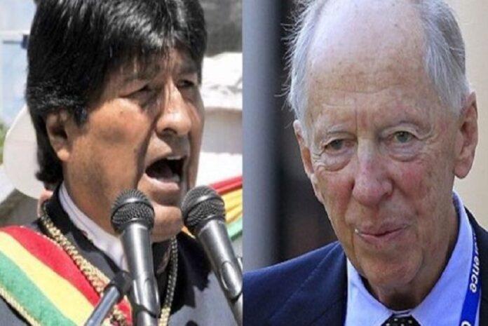 Evo Morales e Rotthschild