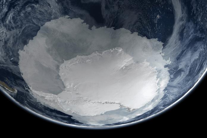 Gelo marinho da Antártica