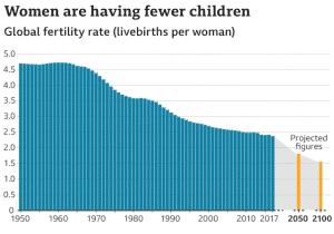Taxa de fertilidade global