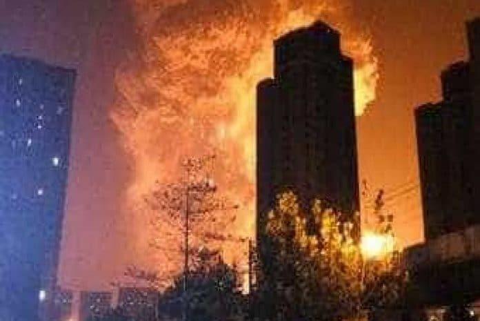 Explosões em Tianjin