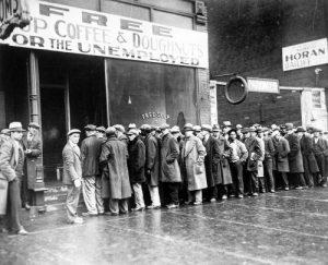 Grande Depressão nos Estados Unidos da América