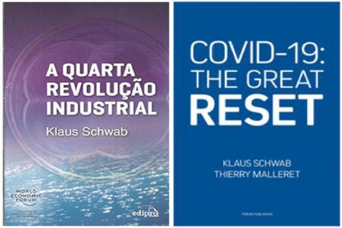 Os livros: A Quarta Revolução Industrial e Covid-19 The Great Reset